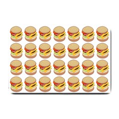 Hamburger Pattern Small Doormat  by Simbadda