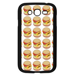 Hamburger Pattern Samsung Galaxy Grand Duos I9082 Case (black) by Simbadda