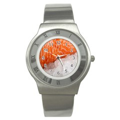 Abstract Angel Bass Beach Chef Stainless Steel Watch by Simbadda