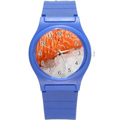 Abstract Angel Bass Beach Chef Round Plastic Sport Watch (s) by Simbadda