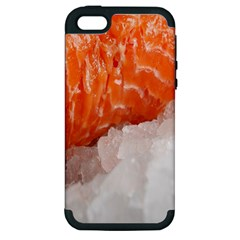 Abstract Angel Bass Beach Chef Apple Iphone 5 Hardshell Case (pc+silicone) by Simbadda