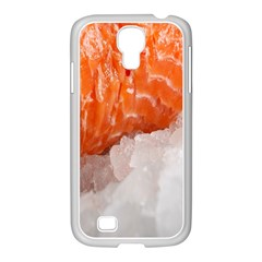 Abstract Angel Bass Beach Chef Samsung Galaxy S4 I9500/ I9505 Case (white) by Simbadda