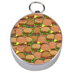 Burger Double Border Silver Compasses by Simbadda