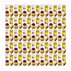 Hamburger And Fries Medium Glasses Cloth