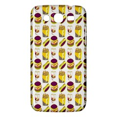 Hamburger And Fries Samsung Galaxy Mega 5 8 I9152 Hardshell Case  by Simbadda