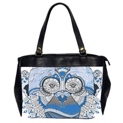 Pattern Monkey New Year S Eve Office Handbags (2 Sides)  by Simbadda