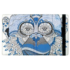 Pattern Monkey New Year S Eve Apple Ipad 3/4 Flip Case by Simbadda