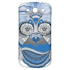 Pattern Monkey New Year S Eve Samsung Galaxy S3 S Iii Classic Hardshell Back Case by Simbadda