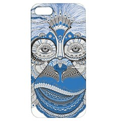 Pattern Monkey New Year S Eve Apple Iphone 5 Hardshell Case With Stand by Simbadda