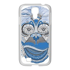 Pattern Monkey New Year S Eve Samsung Galaxy S4 I9500/ I9505 Case (white) by Simbadda