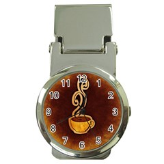Coffee Drink Abstract Money Clip Watches by Simbadda