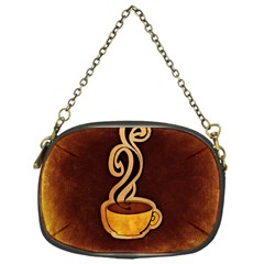 Coffee Drink Abstract Chain Purses (one Side)  by Simbadda
