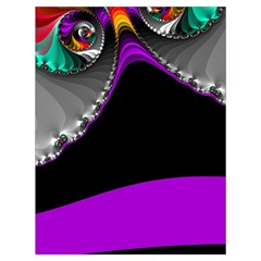Fractal Background For Scrapbooking Or Other Drawstring Bag (large) by Simbadda