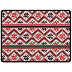 Folklore Fleece Blanket (large)  by Valentinaart