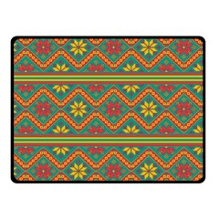 Folklore Double Sided Fleece Blanket (small)  by Valentinaart