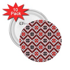Folklore 2 25  Buttons (10 Pack)  by Valentinaart
