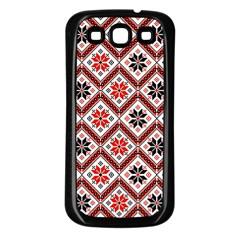 Folklore Samsung Galaxy S3 Back Case (black) by Valentinaart
