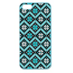 Folklore Apple Seamless Iphone 5 Case (color) by Valentinaart