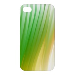 Folded Digitally Painted Abstract Paint Background Texture Apple Iphone 4/4s Hardshell Case by Simbadda