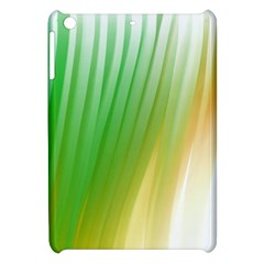 Folded Digitally Painted Abstract Paint Background Texture Apple Ipad Mini Hardshell Case by Simbadda