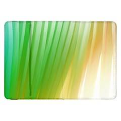 Folded Digitally Painted Abstract Paint Background Texture Samsung Galaxy Tab 8 9  P7300 Flip Case by Simbadda