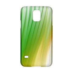 Folded Digitally Painted Abstract Paint Background Texture Samsung Galaxy S5 Hardshell Case  by Simbadda