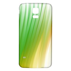 Folded Digitally Painted Abstract Paint Background Texture Samsung Galaxy S5 Back Case (white) by Simbadda