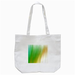Folded Digitally Painted Abstract Paint Background Texture Tote Bag (white) by Simbadda
