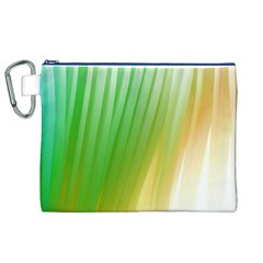 Folded Digitally Painted Abstract Paint Background Texture Canvas Cosmetic Bag (xl) by Simbadda