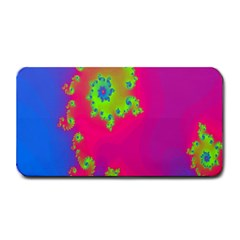 Digital Fractal Spiral Medium Bar Mats by Simbadda