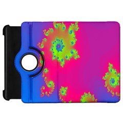 Digital Fractal Spiral Kindle Fire Hd 7  by Simbadda