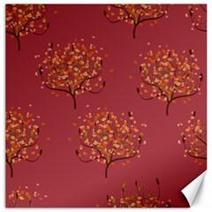 Beautiful Tree Background Pattern Canvas 20  X 20   by Simbadda