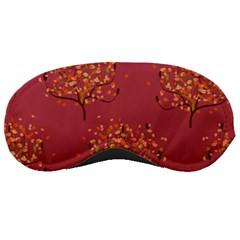 Beautiful Tree Background Pattern Sleeping Masks by Simbadda