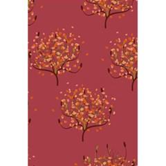 Beautiful Tree Background Pattern 5 5  X 8 5  Notebooks