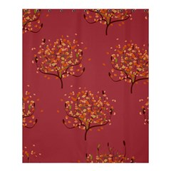 Beautiful Tree Background Pattern Shower Curtain 60  X 72  (medium)  by Simbadda
