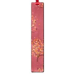 Beautiful Tree Background Pattern Large Book Marks by Simbadda