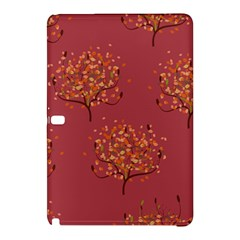 Beautiful Tree Background Pattern Samsung Galaxy Tab Pro 10 1 Hardshell Case by Simbadda