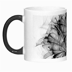 High Detailed Resembling A Flower Fractalblack Flower Morph Mugs by Simbadda