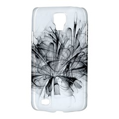 High Detailed Resembling A Flower Fractalblack Flower Galaxy S4 Active by Simbadda