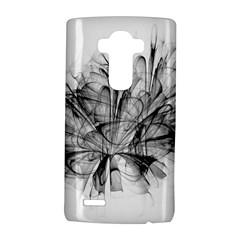 High Detailed Resembling A Flower Fractalblack Flower Lg G4 Hardshell Case by Simbadda