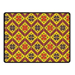 Folklore Fleece Blanket (small) by Valentinaart