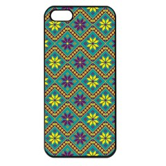 Folklore Apple Iphone 5 Seamless Case (black) by Valentinaart