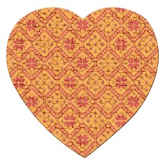 Folklore Jigsaw Puzzle (heart) by Valentinaart