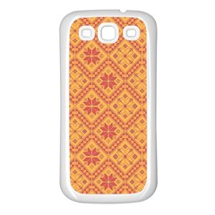 Folklore Samsung Galaxy S3 Back Case (white) by Valentinaart