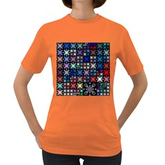 Color Party 01 Women s Dark T Shirt by MoreColorsinLife