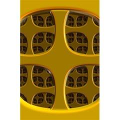 Golden Fractal Window 5 5  X 8 5  Notebooks by Simbadda