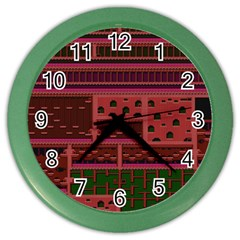 Blaster Master Color Wall Clocks by Alisyart