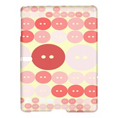 Buttons Pink Red Circle Scrapboo Samsung Galaxy Tab S (10 5 ) Hardshell Case  by Alisyart