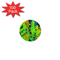 Bow Canopy Height Satelite Map 1  Mini Magnets (100 Pack)  by Alisyart