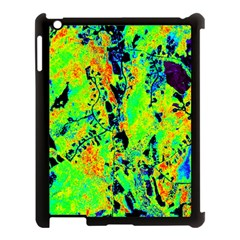 Bow Canopy Height Satelite Map Apple Ipad 3/4 Case (black) by Alisyart